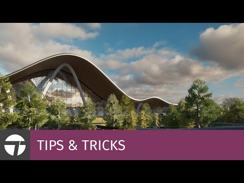 Customize the sky using a skydome | Tips & Tricks | Twinmotion