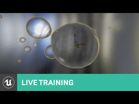 Custom Material Node: How to use and create Metaballs | Live Training | Unreal Engine