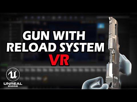 GUN tutorial with VR expansion plugin - Beginner unreal engine VR tutorial