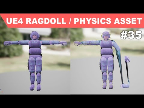 Unreal third Person Shooter #35 - Physics Asset/ Ragdoll - Physics Bodies