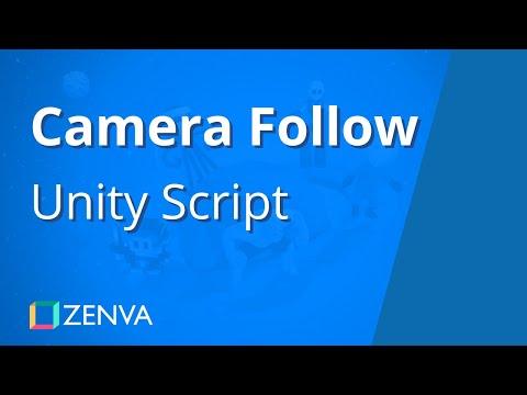 Creating a Basic CAMERA FOLLOW Script in Unity
