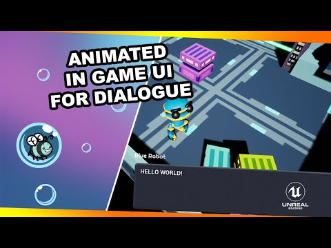 Animated In Game UI for dialogue - Let's make a stealth game, #10