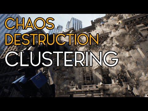 Chaos Destruction - Clustering - Unreal Engine/UE4