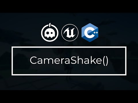 UE4 C++ Tutorial - What is Camera Shake? - UE4 / Unreal Engine 4 Intro to C++