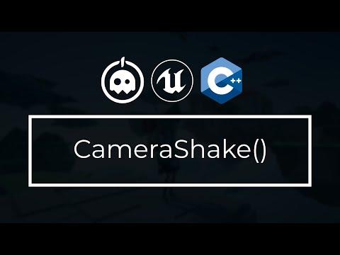 UE4 C++ Tutorial - Camera Shake (4.25 AND BELOW) - UE4 / Unreal Engine 4 Intro to C++