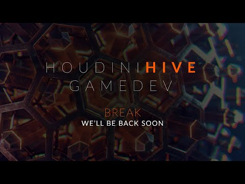 Houdini HIVE GameDev - Day One (Wed, March 25)
