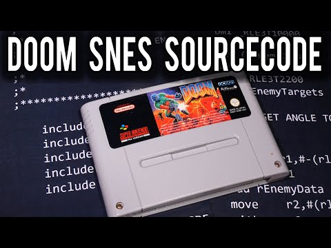 A closer look at the Super NES DOOM Source Code Release   MVG