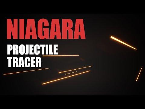 UE4 Niagara Tutorial - Bullet Tracer Effect - Intro to Niagara UE4/Unreal Engine 4