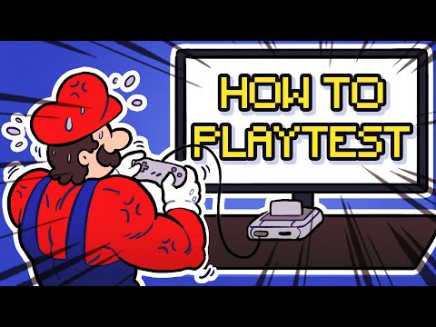 How to Playtest like a PRO (Industry Standards Level)