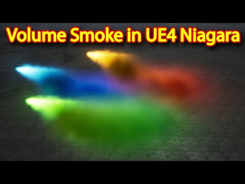 Volume Smoke | Unreal Engine Niagara Tutorials | UE4 Niagara Volume Smoke
