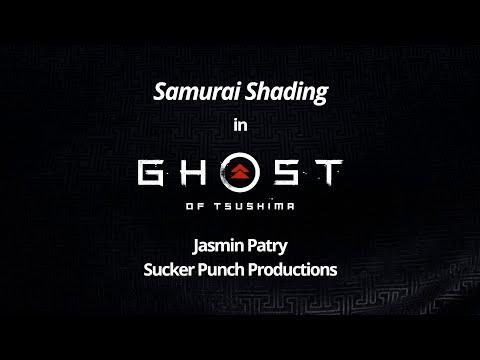 Samurai Shading in Ghost of Tsushima