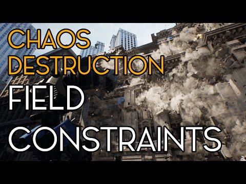 Chaos Destruction - Constraint Fields - Unreal Engine/UE4