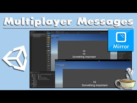 How To Send Network Messages - Unity Multiplayer Tutorial