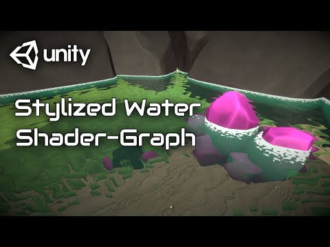 3D Stylized Water with Refraction and Foam Shader Graph - Unity Tutorial