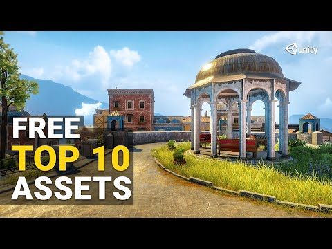 TOP 10 FREE Assets for Environment Design in Unity