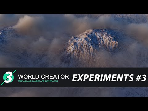 World Creator 3. Alpha.(build from 10 sep-2020) Experiments #3
