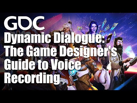 Dynamic Dialogue: The Game Designer's Guide to Voice Recording