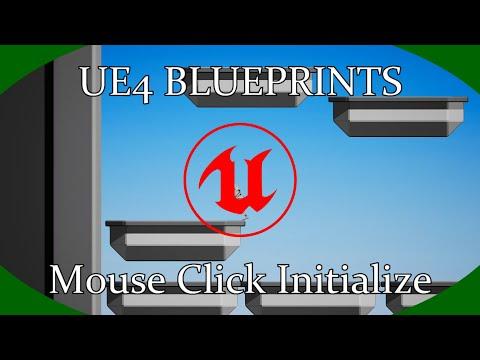 DPTV UE4 Blueprints Tutorial 24 (Mouse Click Initialize)