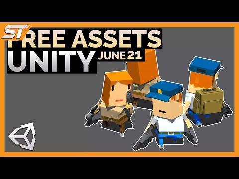 FREE Unity Assets - June 2021