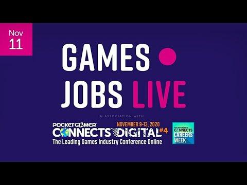 Games Jobs Live @ Pocket Gamer Connects Digital 4