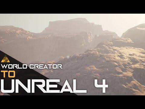 World Creator 2 Unreal Engine 4 - UE4 World Composition Tutorial