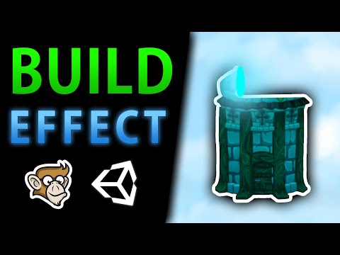 Awesome Building Construction Shader Effect! (Shader Graph)