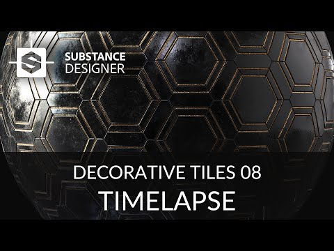 Substance Designer - Decorative Tiles 08