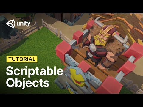 Better Data with Scriptable Objects in Unity! (Tutorial)