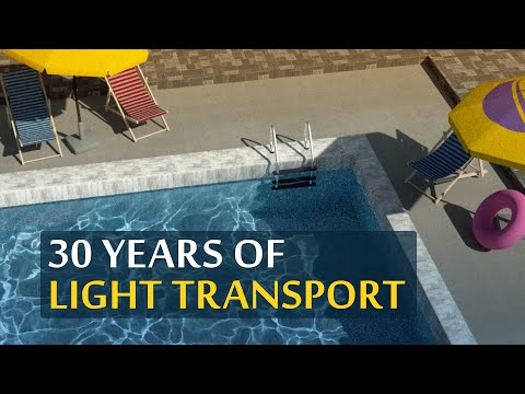 Beautiful Results From 30 Years Of Light Transport Simulation! ☀️