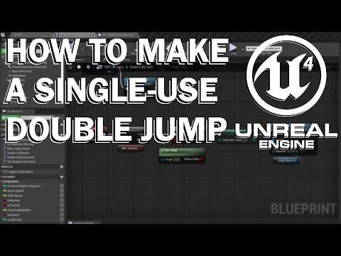 How to make a single-use double jump in Unreal Engine 4