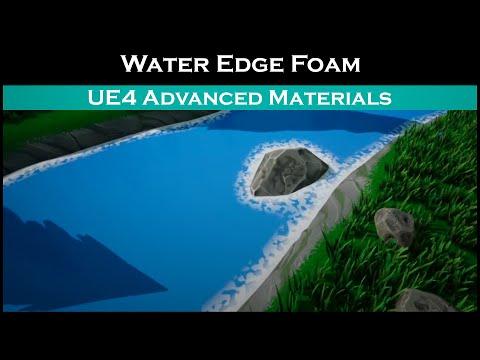 Ue4: advanced materials (Ep. 49 River Foam Distance Fields)