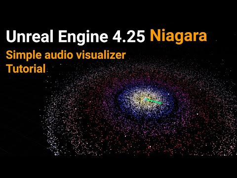 Unreal Engine 4 25 Niagara Tutorial Simple audio visualizer