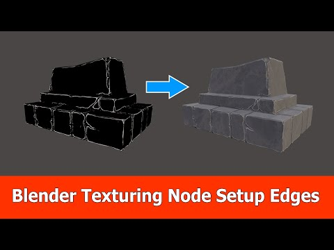 Blender Texturing Tutorial: Curvature and Albedo Maps