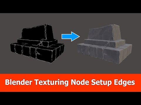Blender Texturing Tutorial: Node Setup Edges