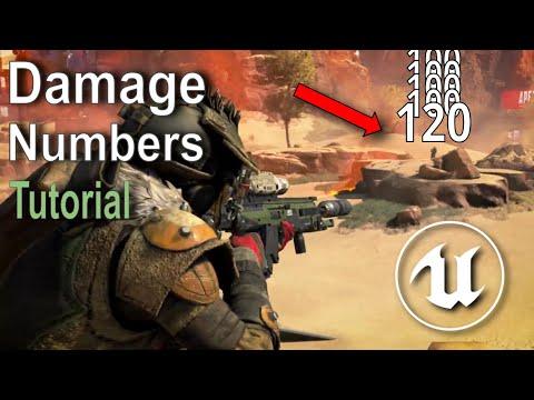 Unreal Engine - Damage Numbers Tutorial (1/4)