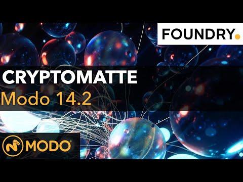 Modo 14.2 - Cryptomatte