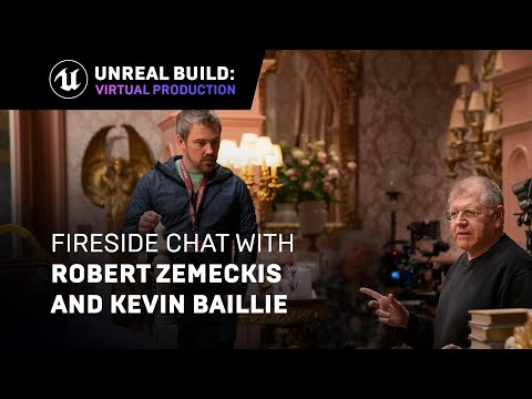 Fireside Chat with Robert Zemeckis and Kevin Baillie