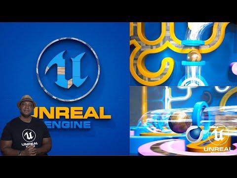 How I created the GEOMETRIC Unreal Engine Logo Animation #EpicPartner