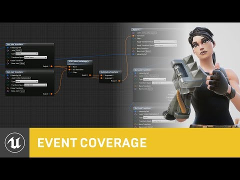 Enhancing Animation with Control Rig | GDC 2019 | Unreal Engine
