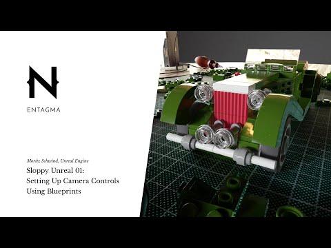 Sloppy Unreal 01: Setting Up Camera Controls Using Blueprints