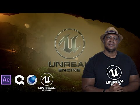 How I created the NATURALISTIC Unreal Engine Logo Animation #EpicPartner