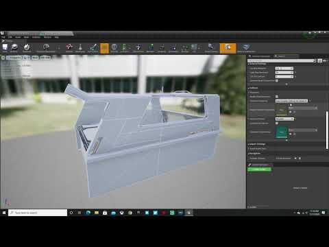 Collision Fix for Migrated Kitbash3d Projects in Unreal Engine
