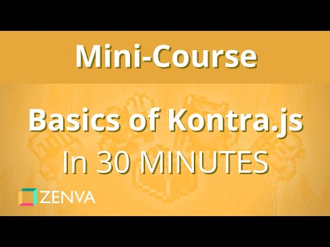 Learn Game Development with Kontra.js in 30 MINUTES