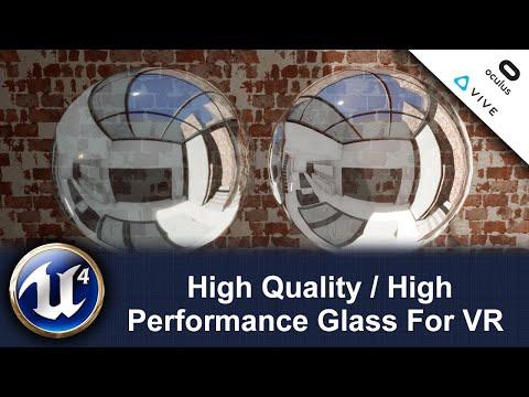 High-Performance VR Glass - UE4