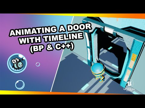Animating a Door using a Timeline (Blueprint & C++)