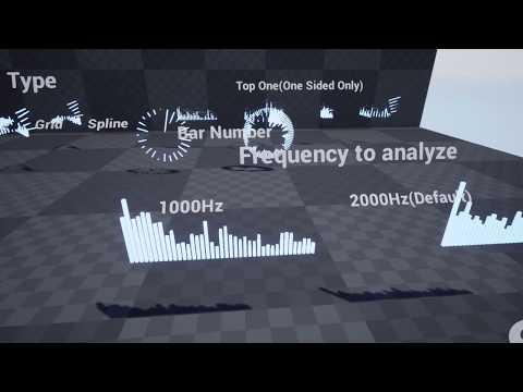 UE4 Sound Visualizer sample project (download link)