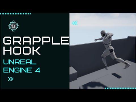 Advanced Grapple Hook System - Using Unreal Engine 4 (Sekiro Style)