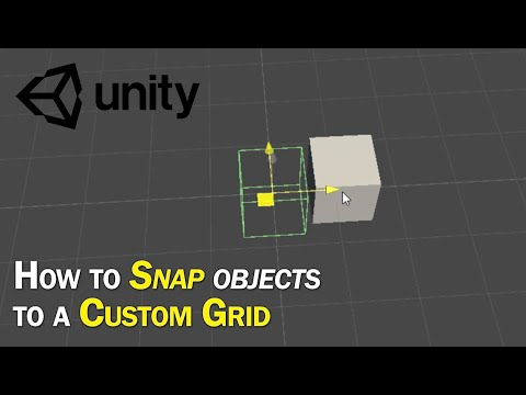 How to Snap Objects to a Custom Grid in 3 minutes - Unity Tutorial