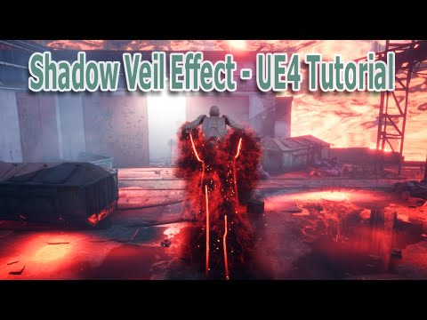 Shadow Veil Effect - Unreal Engine 4 Niagara Tutorial