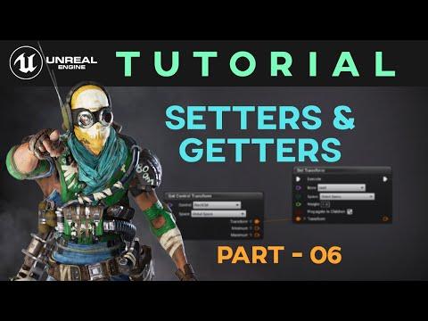 Control Rig Tutorial - Part 06 - Setter & Getter Nodes | Unreal Engine 4 | Sonali Singh